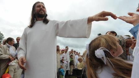 """Reincarnated"" Jesus arrested in Russia"