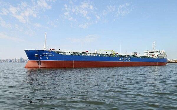 """""""Prezident Heydər Əliyev"""" tankeri təmir olundu"""