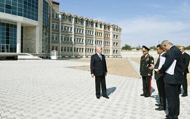 Naxçıvan Qarnizonu üçün yeni kompleks inşa olunur - Foto
