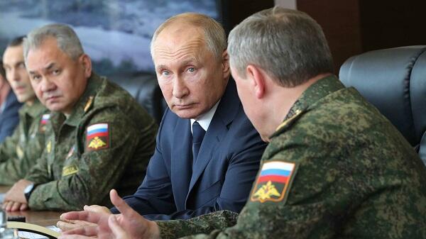 Putin izlədi: Rusiya hərbi qüdrətini nümayiş etdirdi - Video