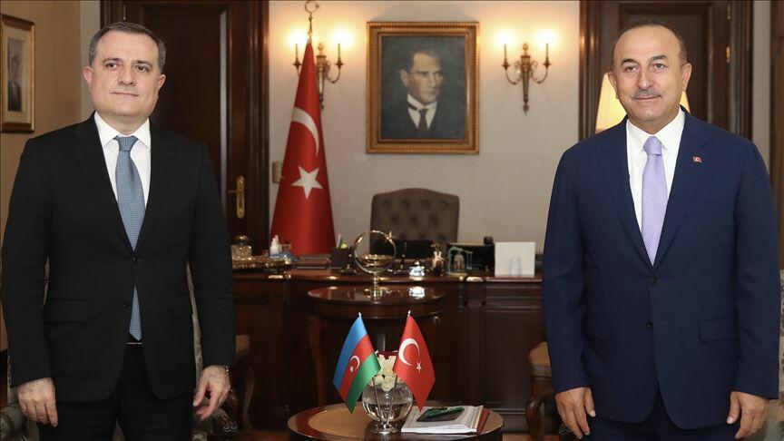 Bayramov və Çavuşoğlu arasında telefon danışığı oldu