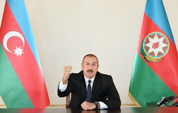 Ali Baş Komandan xalqa müraciət etdi - Video
