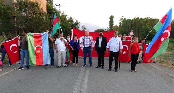 Türklər Ermənistan sərhədində aksiyası keçirdi