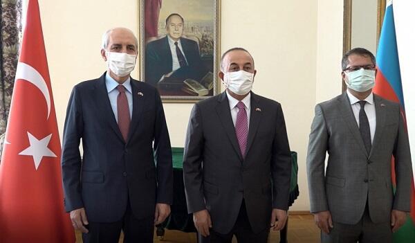 Çavuşoğlu və Qurtulmuşdan Azərbaycana jest - Foto