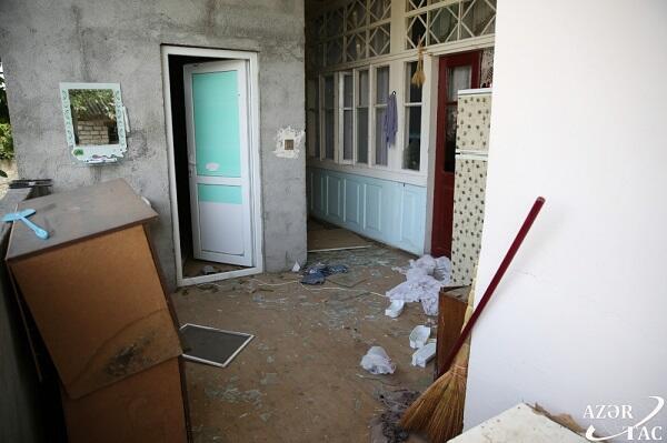 Düşmən 65 yaşayış evi, 5 mülki obyekti yararsız hala saldı