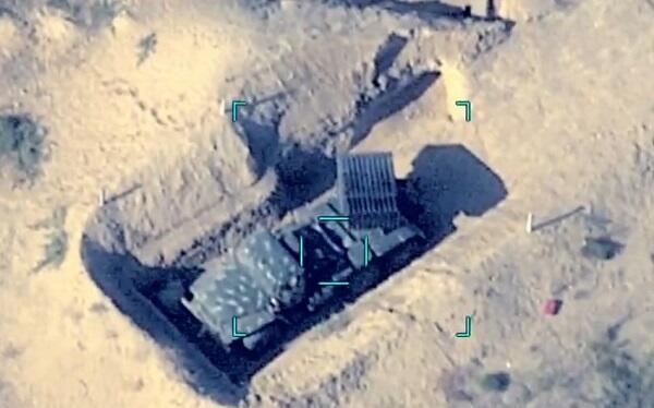 Bu gün məhv edilən düşmən hərbi texnikalarının - Videosu
