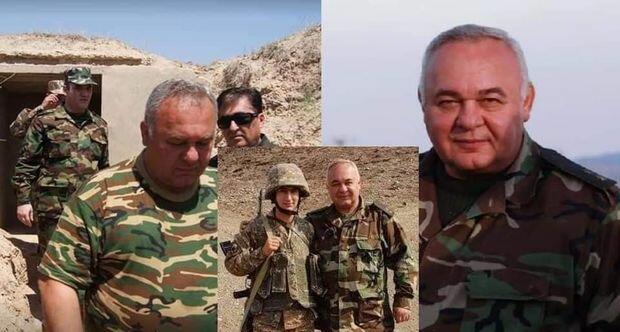 Daha bir erməni generalı məhv edildi - Foto