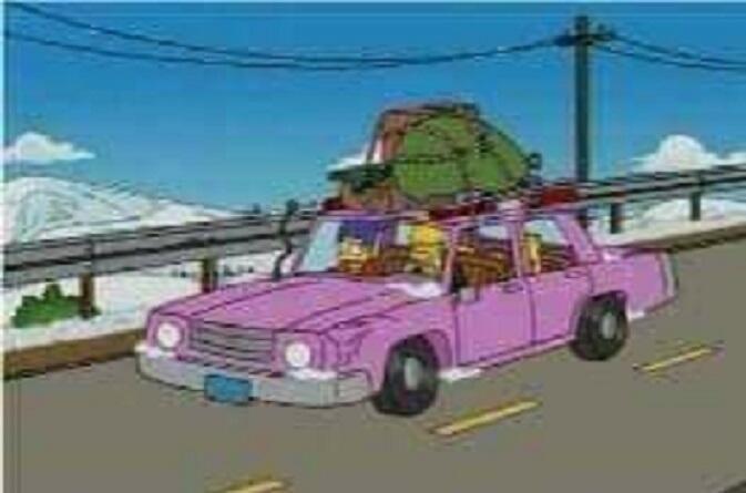 """""""Simpsonlar"""" Qarabağdan belə qaçdı - Foto"""