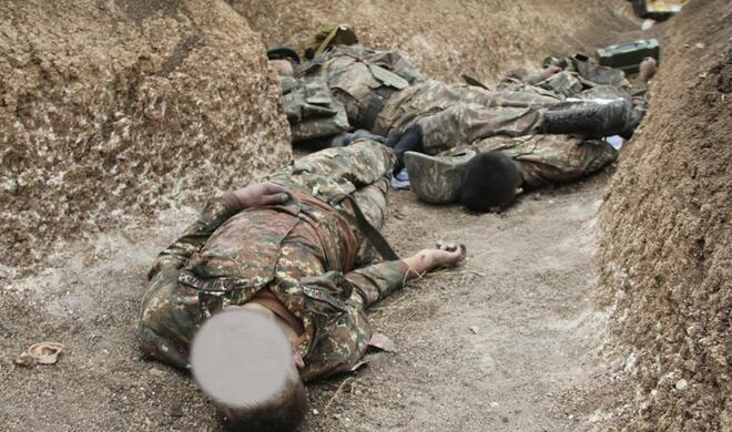 В Ходжавенде найдены останки еще 3 армянских военных