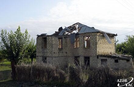 Erməni faşizmi: Arayatlıya ciddi ziyan dəydi - Foto