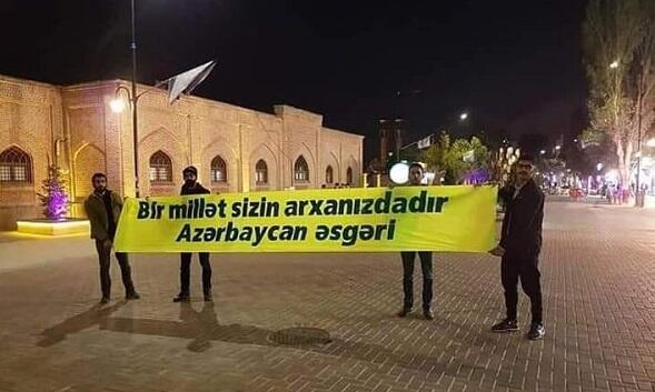 Cənubi azərbaycanlılardan Qarabağa dəstək – Foto
