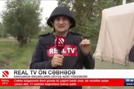 Mir Şahin ön xətdə - Video