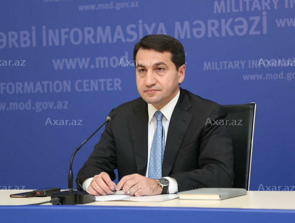Armenia refuses to take bodies - Hajiyev
