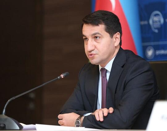 Hikmet Hajiyev wrote about the Khojaly genocide