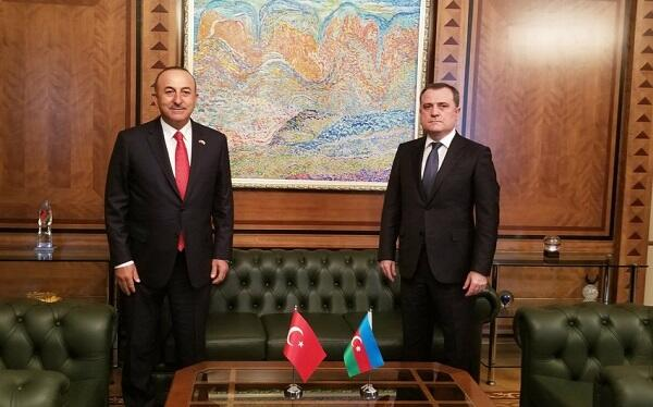 Jeyhun Bayramov spoke with Chavusoglu
