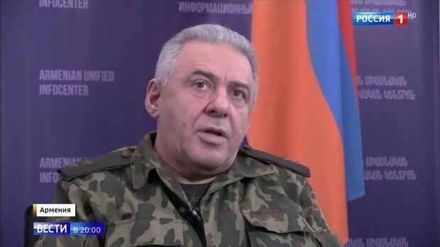 Armenian Defense Minister arrives in Khankendi