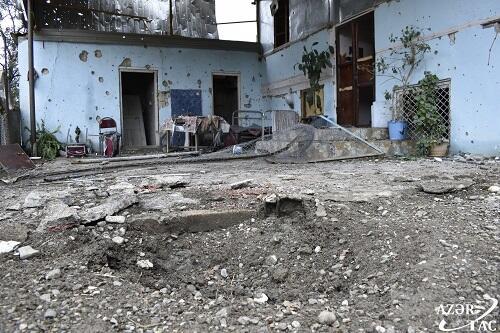 Враг обстрелял Геранбойский и Тертерский районы