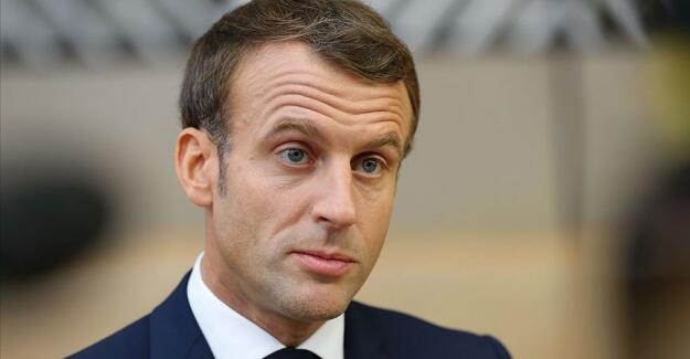 Macron was severely criticized -