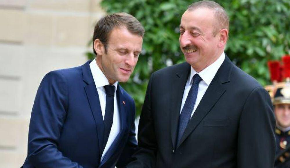 Fransa səhvini anladı: Makron Əliyevə əl uzatdı – Video