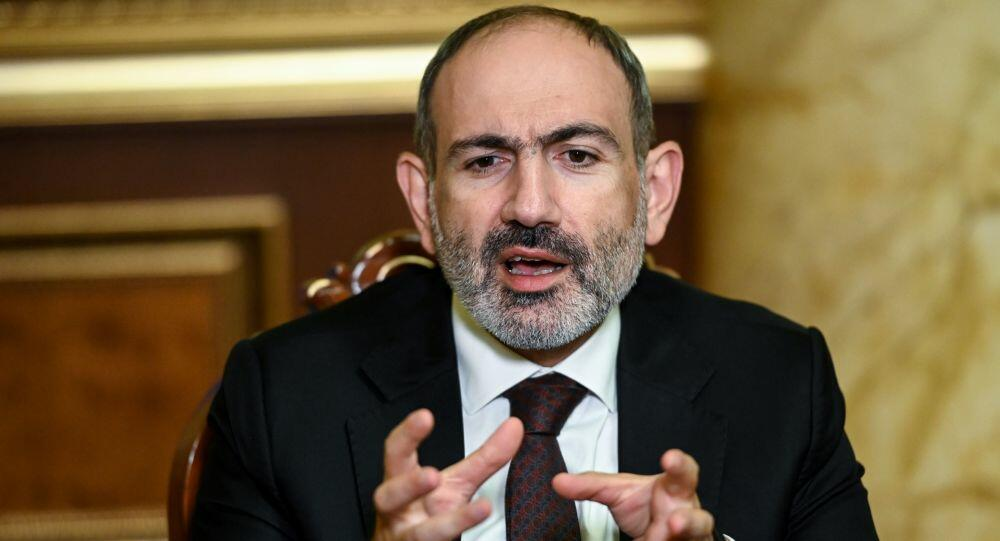 Pashinyan asked: Forgive me...
