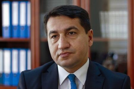 Post from Hikmet Hajiyev about martyrs