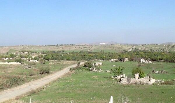 Garghabazar village of the Fuzuli region -