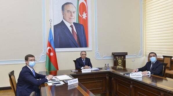 Kamran Əliyev bu ölkədəki həmkarları ilə görüşdü - Foto