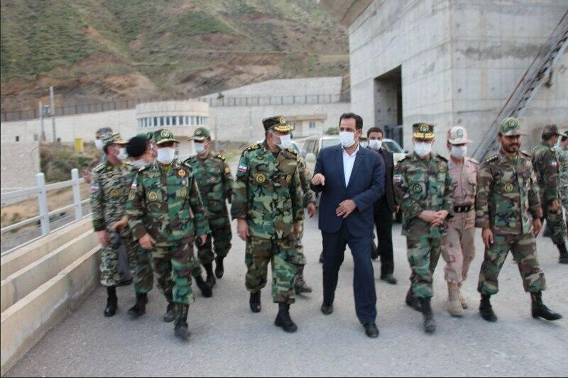 İran Ordusunun komandanı Xudafərinə gəldi