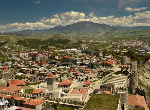 Ermənilər Gürcüstanın daha bir şəhərinə iddia etdi - Foto