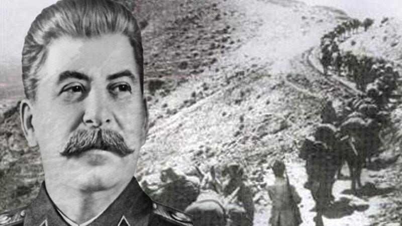 Stalinin ermənilərə saxta vətən yaradan qərarı - Foto