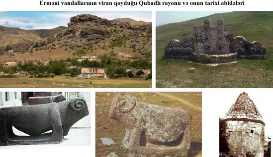 Qubadlının tarixi və abidələrinə qarşı erməni vandalizmi