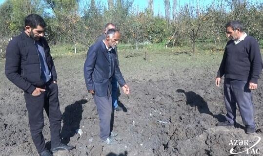 Tərtərin raket düşən Kəbirli kəndindən - Reportaj