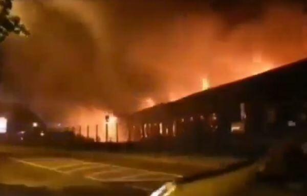 Xarkovda dəhşətli yanğın: 15 nəfər öldü