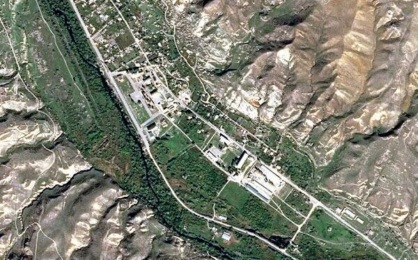 Qubadlı şəhərinin peykdən - Görüntüsü