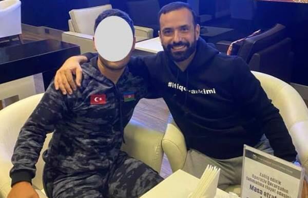 """İş adamı əsgərimizə """"Mersedes"""" bağışladı - Foto"""