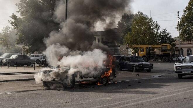 """""""Nyu York Tayms"""" müxbiri Bərdə terrorunun şahidi oldu"""
