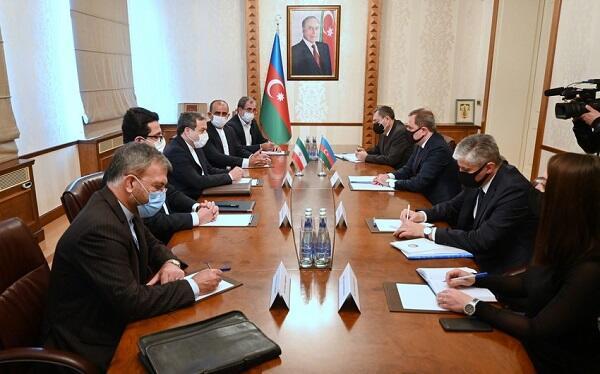 Bayramov İran prezidentinin xüsusi elçisi ilə görüşdü