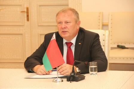 Belarus səfiri Gəncəyə gəldi