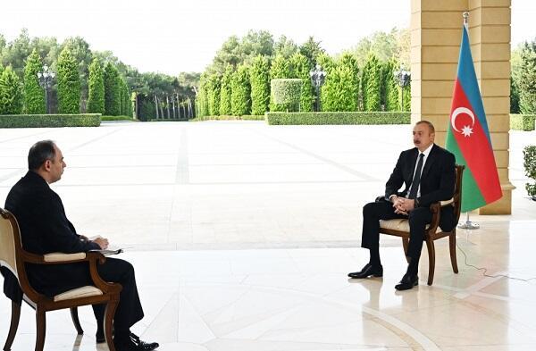 """Prezident Rusiyanın """"İnterfaks"""" agentliyinə müsahibə verdi"""