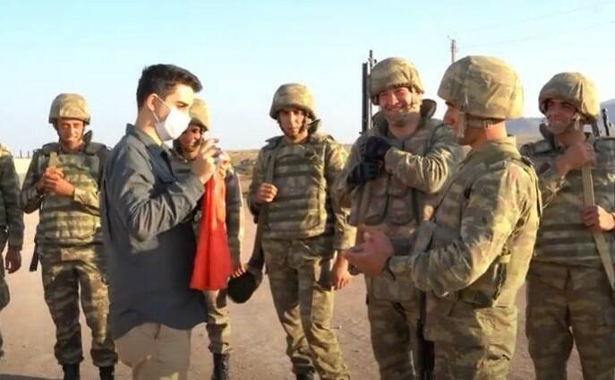 Məşhur türk yutuber Qarabağda - Video