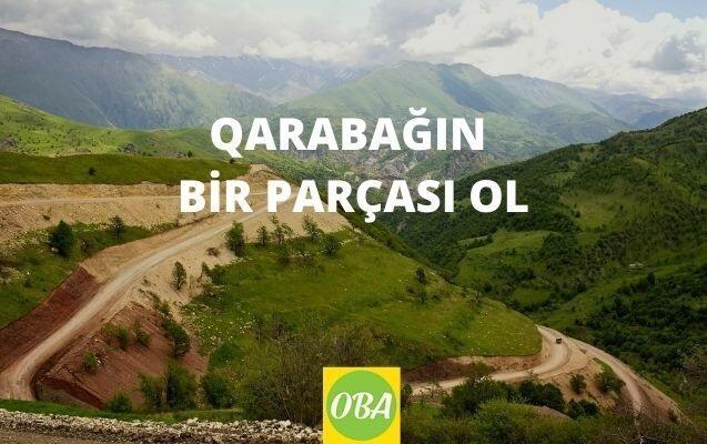 """""""Qarabağın bir parçası ol"""": şəklini bu ünvana göndər və…"""