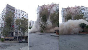 Moment of the earthquake in Turkey: Building flew this -