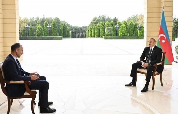 İlham Əliyevin ARD televiziya kanalına müsahibəsi