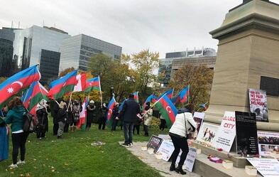 Hamımız Azərbaycanın yanındayıq! - Torontoda aksiya