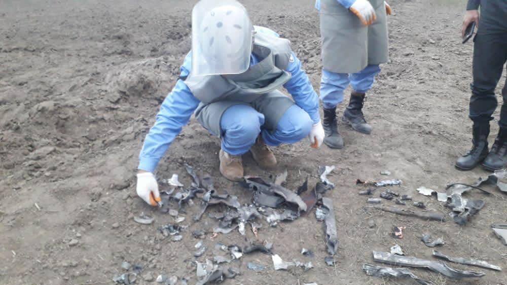 The Ombudsman awarded demining workers in Aghdam