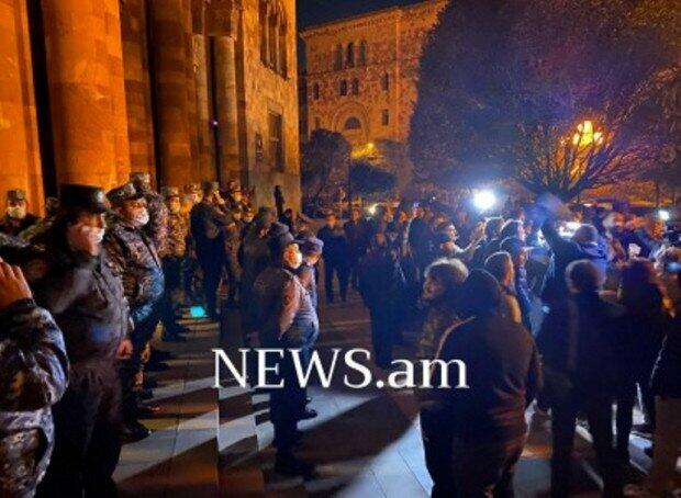 Another rally against Pashinyan has started in Yerevan -