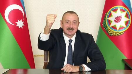 Ilham Aliyev addressed the people