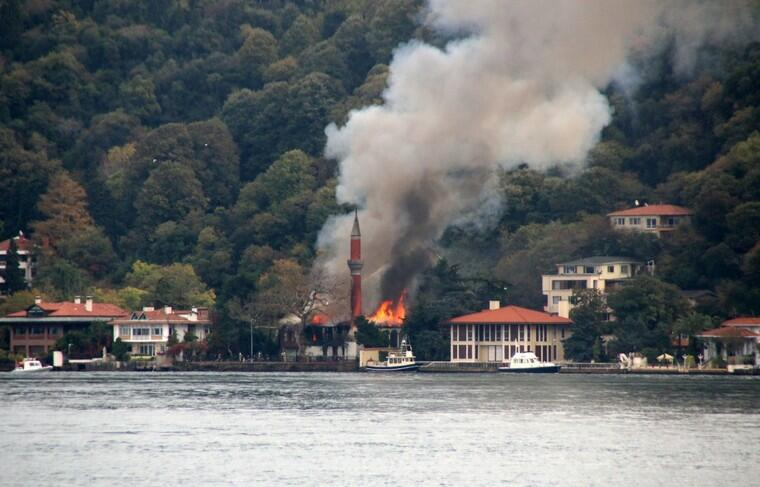 180 fires were controlled in Turkey
