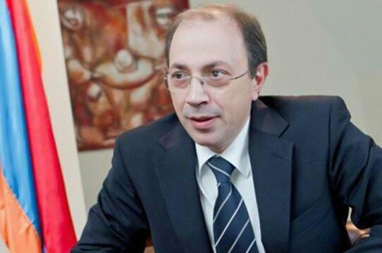 Ayvazyan spoke with the British minister