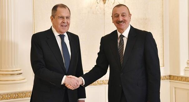 Lavrov to meet with Aliyev in Baku
